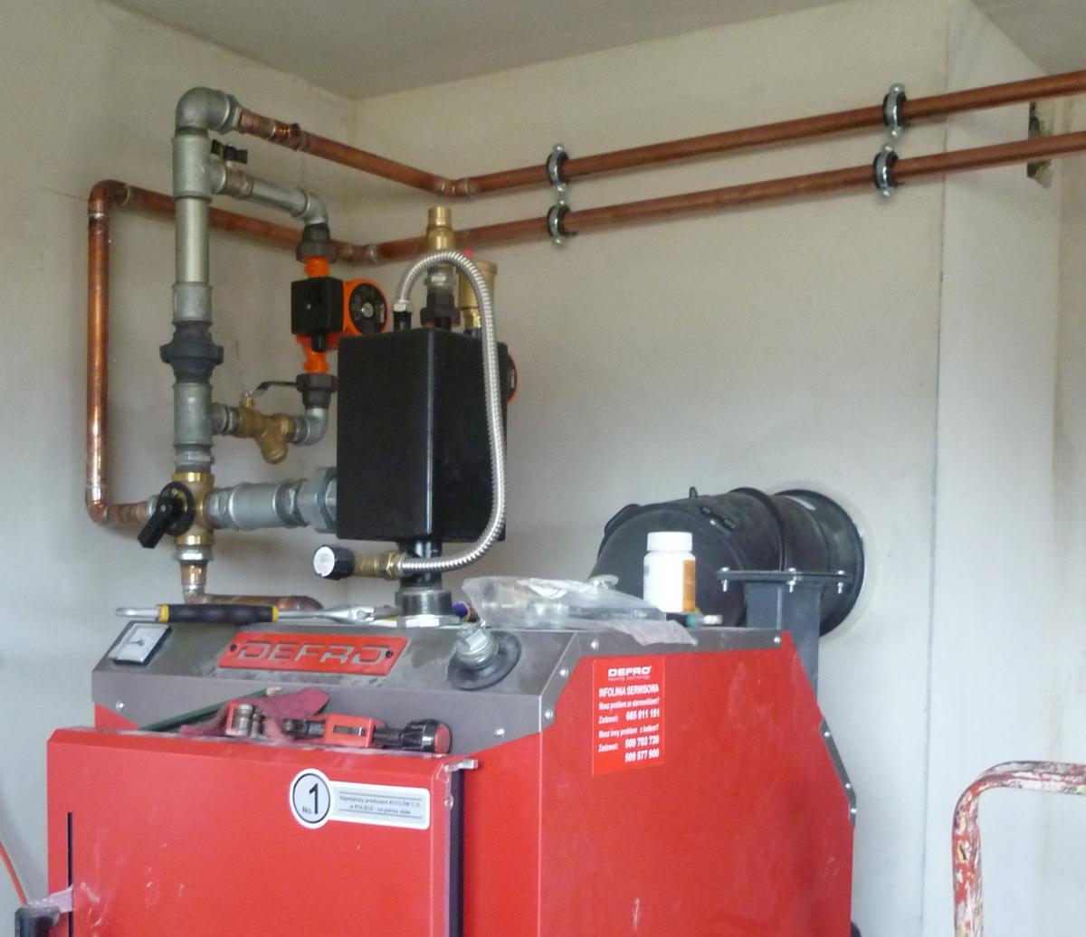 Zaktualizowano jak zainstaloac termometr w czopuchu - Instalacje CO i CWU - Forum KO19